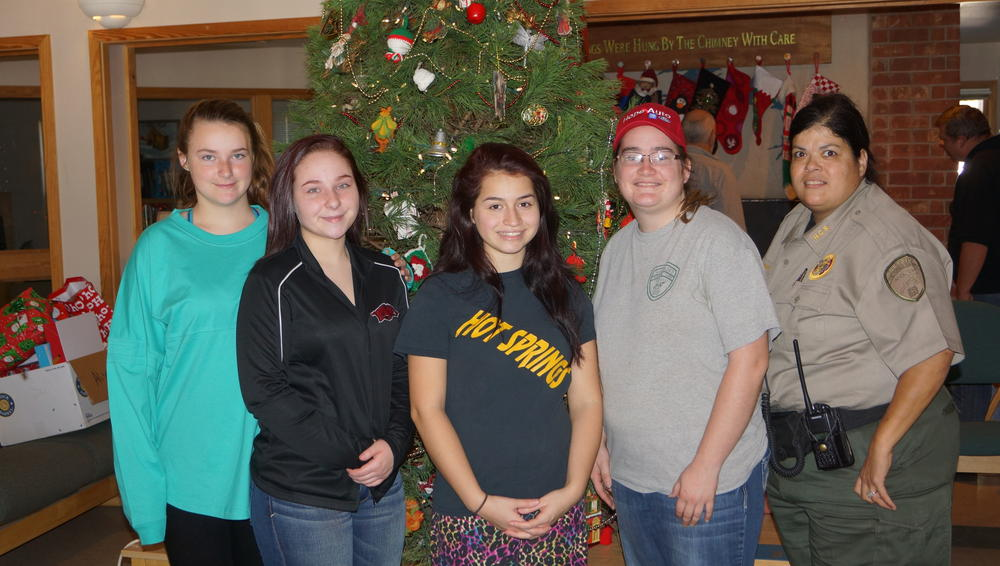 Presents for the Arkansas Sheriff's Youth Ranch in Amity ...