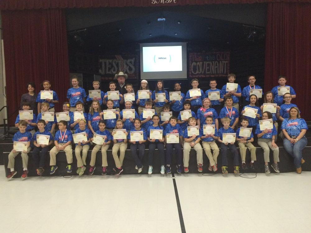 2015 Garrett Memorial Christian School D.A.R.E. Graduation