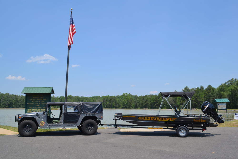 Humvee and Rescue Boat